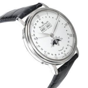 Blancpain Villeret Quantième Complet 6263-1127A-55 Men's Watch in  Stainless Ste