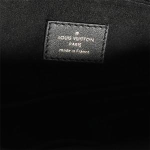 Louis Vuitton Monogram Canvas & Black Pallas MM