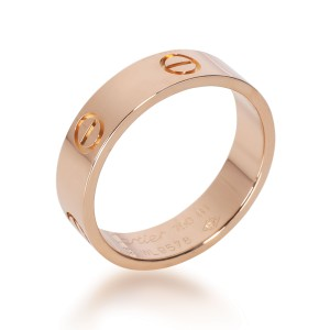 Cartier Love Ring in 18K Rose Gold