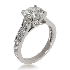 Cartier 1895 Diamond Engagement Ring in  Platinum H VS1 2.19