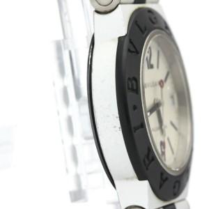 BVLGARI Aluminum Rubber Quartz Ladies Watch AL32TA