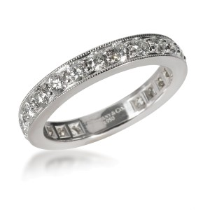 Tiffany & Co. Legacy Collection Diamond Eternity Band in  Platinum 1.21