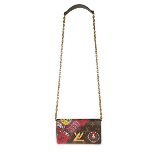 Louis Vuitton x Kansai Yamamoto Monogram Kabuki Epi Twist Chain Wallet
