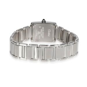 Cartier Tank Francaise W50012S3 Women's Watch in 18kt White Gold
