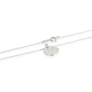 Tiffany & Co. Notes Initial 'L' Necklace in Sterling Silver