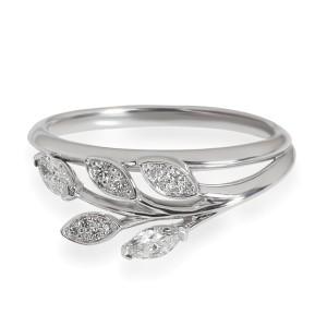 Tiffany Victoria Diamond Vine Ring in Platinum 0.24