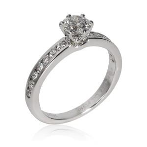 Tiffany & Co. Diamond Engagement Ring in Platinum 0.75 CTW