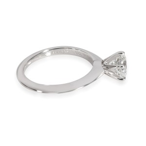 Tiffany & Co. Diamond Solitaire Engagement Ring in  Platinum G VS1 1.05