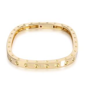 Roberto Coin Pois Moi Diamond Bangle in 18K Yellow Gold 0.07 CTW