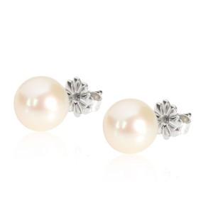 Tiffany & Co. Ziegfield Pearl Stud Earring in  Sterling Silver