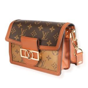 Louis Vuitton Monogram & Monogram Reverse Canvas Mini Dauphine Bag