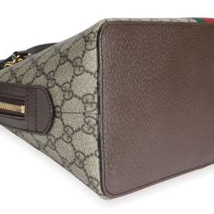 Gucci GG Supreme Ophidia Medium Top Handle Bag