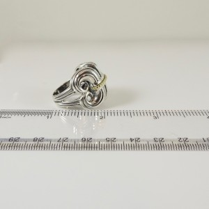 Lagos  Sterling Silver   Ring