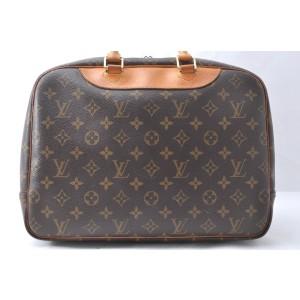 Louis Vuitton Monogram Deauville Hand Bag M47270