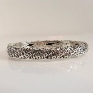 John Hardy  Sterling Silver  Black Sapphire Bracelet