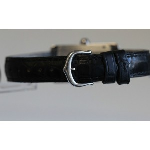 Cartier Tank Americaine W2601956 18K White Gold Watch
