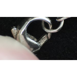 Tiffany & Co. Platinum Star Collection Diamond Necklace