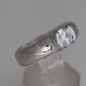 Tiffany & Co. Etoile Platinum Diamond Engagement Ring