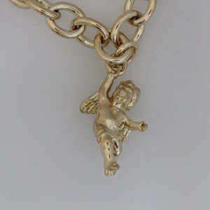 Tiffany & Co. 18 Yellow Gold Angel Charm