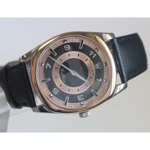 Rolex Cellini Mens Danaos 4243 Rose and 18K White Gold 38mm Watch