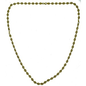 18K Yellow Gold Gucci Puff Link Chain Necklace