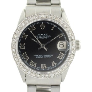 Rolex Oyster Perpetual 6466 Vintage 31mm Womens Watch
