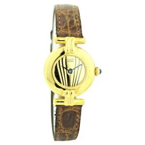 Cartier Must de Cartier Vintage 24mm Womens Watch