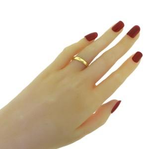 Tiffany & Co. Classic 18K Yellow Gold Wedding Band Ring Size 6.5