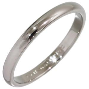 Tiffany & Co. Simple Platinum Wedding Ring Size 4.5