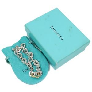 Tiffany & Co. Heart 18K Yellow Gold, Sterling Silver Bracelet