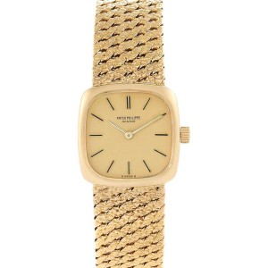 Patek Philippe 18K Yellow Gold Vintage Coctail Ladies Watch 4179