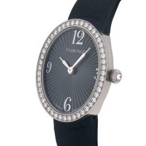 Anastasia Diamond and Grey Dial 113WA276/2 25mm x 29mm Womens Watch
