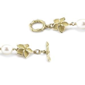 Tiffany & Co. 18K Yellow Gold Pearl Bracelet