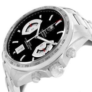 Tag Heuer Grand Carrera Black Dial Automatic Mens Watch CAV511A