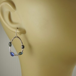 Ippolita Rock Candy  Sterling Silver Semi Precious Stones Earrings