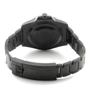 Rolex Ceramic Deepblue Submariner 116610 DLC-PVD