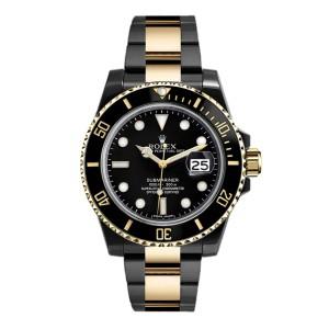Rolex Submariner 116613 DLC-PVD 40mm Men's Watch