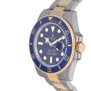 Rolex Submariner 116613BLSO Stainless Steel and 18K Yellow Gold Oyster Automatic 40mm Men's Watch