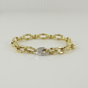Roberto Coin Appassionata  18k Yellow Gold .19tcw; G-H;VS2-SI1 Diamond Bracelet