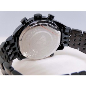 Aqua Master W326 Joe Rodeo Black World 1.50 Ct Black Diamond Mens Watch