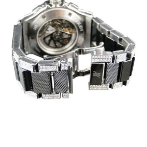 Hublot Big Bang Evolution Ceramic Band 15.95 Diamond 44mm Mens Watch