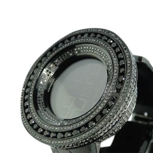 Gucci 52Mm Bezel I Digital 18.5 Ct Diamond Mens Watch
