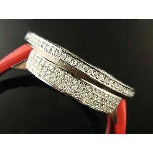 Gucci Digital White Diamond 12.58 Ct Diamond Watch