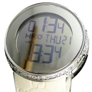 Gucci Digital 4.0 Ct Diamond Ladies Watch