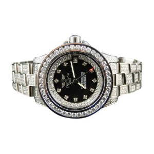 Breitling Aeromarine Black Colt Ocean Diamond 15 Ct Watch