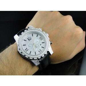 Techno Com KC WKK Stainless Steel Diamond Mens Watch