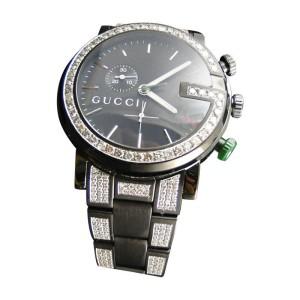 Gucci Ya101331 Diamond 6.5 Ct Sides And Band Mens Watch