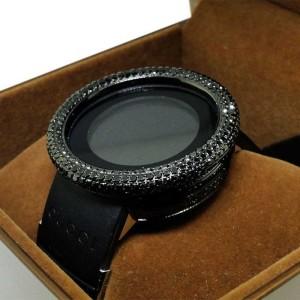 Gucci YA114401 Digital White 8 Ct  Diamond Watch