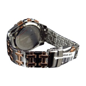 Aqua Master Jojo Joe Rodeo Rose Gold Steel 47mm W#349 Genuine Diamond Mens Watch