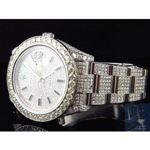 Rolex Date Just II 2 With Genuine Diamonds 28.5 Ct Watch